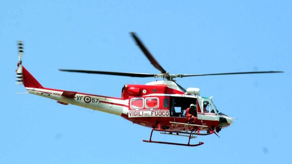 Elicottero E Libellula : Un aeromobile è precipitato a chivasso