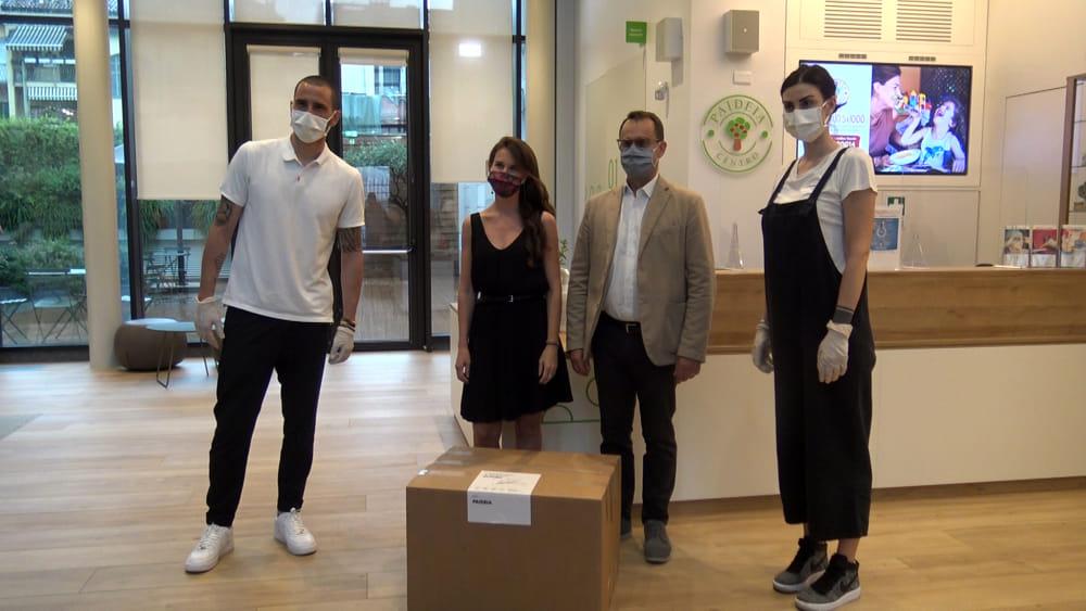 Leonardo Bonucci | Dona 19.000 mascherine