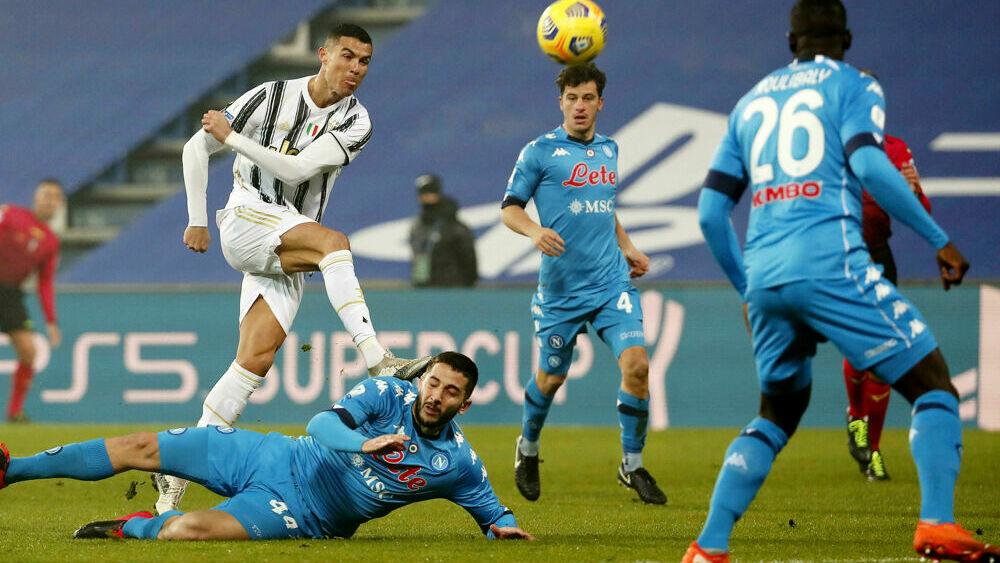Juventus-Napoli 2-0 | Video gol Cristiano Ronaldo ...