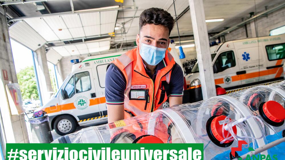 Servizio civile - Anpas Piemonte: nuovo bando per 400 giovani, diventeranno volontari soccorritori