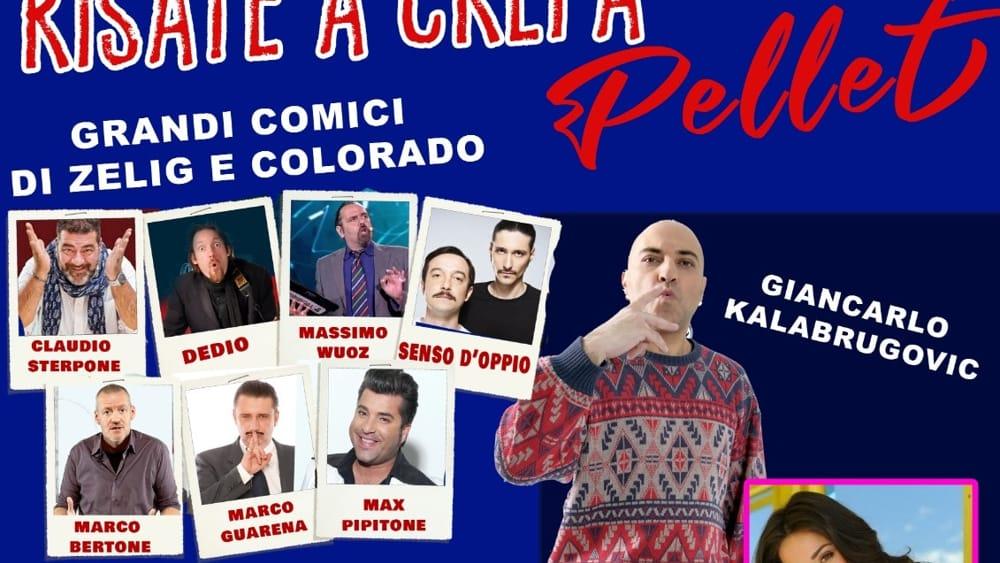 """Risate a Crepa Pellet"", i comici di Zelig e Colorado a Pianezza - TorinoToday"