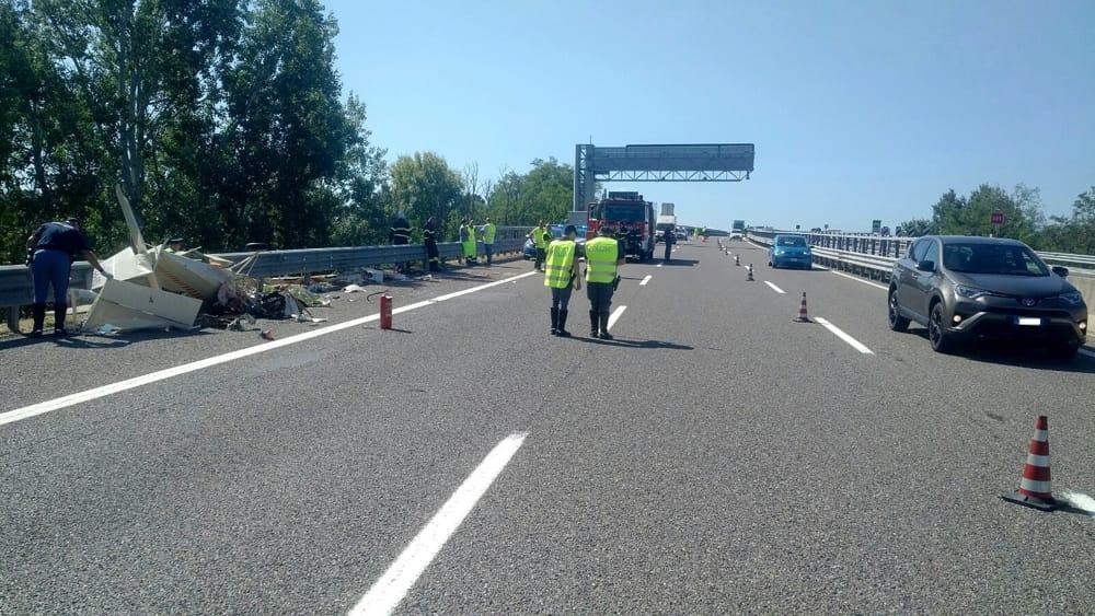 Incidente In Autostrada Genova Gravellona Alessandria Aereo Caduto 29 Luglio 2019 Morto Carlo Satragni